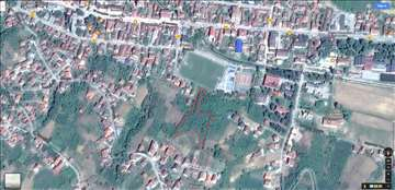Aleksandrovac - plac iznad igrališta