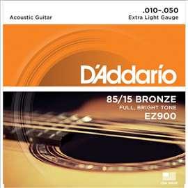 Dadario EZ 900, 010 - 050 žice za akustičnu gitaru