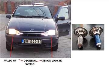 H7 sijalice Xenon look 55W -odlične-par