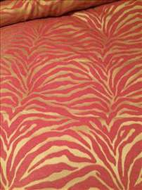 Hot Pink/Zlatno Mebl -Zebra dizajn za namestaj