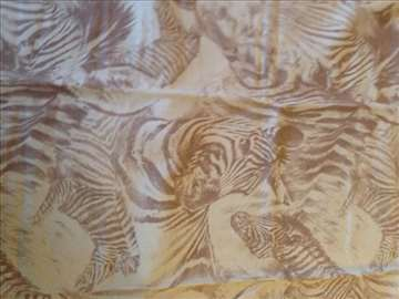Nežan materijal Zebra motiv za nameštaj iz Amerike