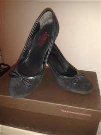 Kožne plave cipele JonesBootmaker-BN Bos