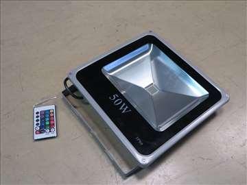 LED reflektor u boji 50W RGB