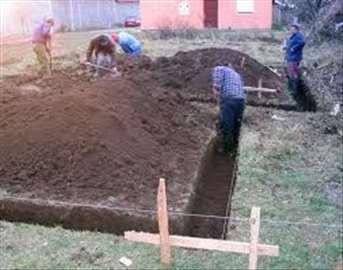 Vrsim usluge rušenja, uklanjanje šuta, iskopavanja