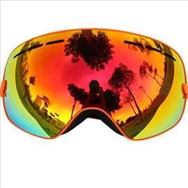 Zenske pro ski  naočare brile UV + anti fog