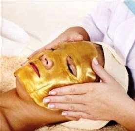 Zlatna maska za celo lice sa bio-kolagenom