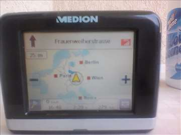 MEDION GPS NAVIGACIJA