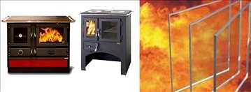 Peći, kamini i vatrostalna stakla