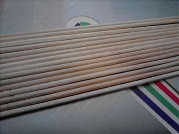 Štapići za šećernu vunu okrugli četvrtasti