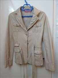 Ženska kožna jakna br.38