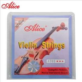 Žice za violinu Alice A703