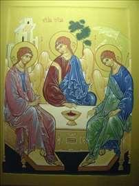 Икона св. Тројице: Ikona sv. Trojice, Rubljovska