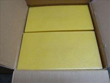 Plastične PVC satne osnove
