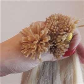 Prirodna kosa prodaja i nadogradnja