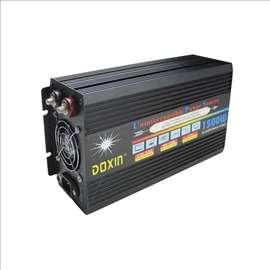 Invertor pretvarač 12V na 220V 1500W