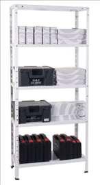 Metalne montažne police 170x75x30 250kg nosivosti