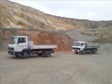Prevoz kiperima do 20  kubika Iskop bagerima