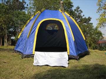 Šator za 6 osoba, 2 x 2,5 x 1,5 m