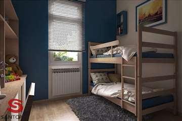 Krevet na sprat sa decijim dusecima Praznicka Akci