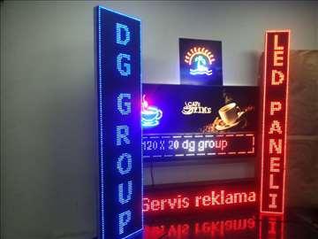 Led reklame svetlece menjaćnice apoteka beograd