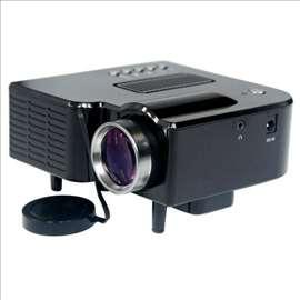 Mini LED Projektor-VGA,AV, SD, USB, HDMI