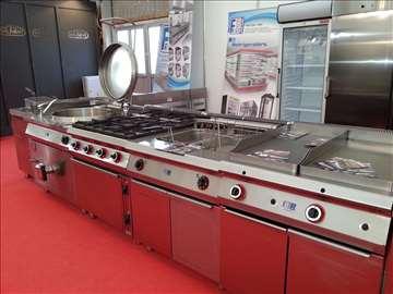 Električni roštilj, friteza, pećnica
