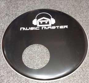 "Music Master plastika za bas bubanj 20"""