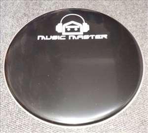 "Music Master plastika za bas bubanj 22"""