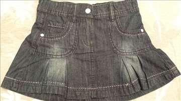 Palomino (C&A) teksas suknjica vel. 116 cm