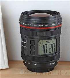 Digitalni sat projektor u obliku Objektiva