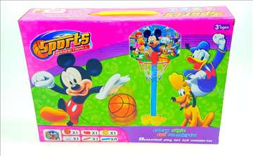 Koš za male košarkaše - Model Mickey