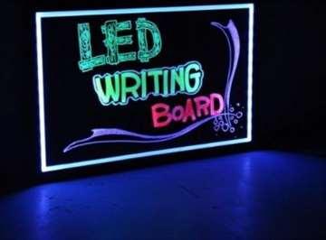 LED piši - briši tabla 60X80 - NOVO