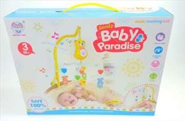 Muzička vrteska na baterije - Baby Paradise
