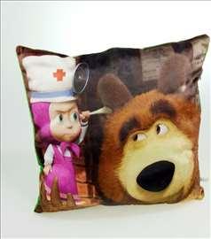Plišano jastuče - Maša i Meda Model 5