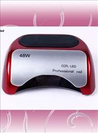 Profesionalna uv i led   lampa 48 W  crvena