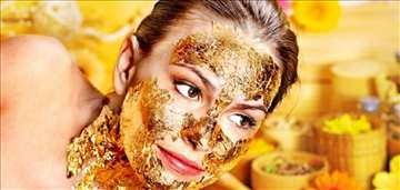 Zlatna maska za lice sa 24kt zlatom HIT