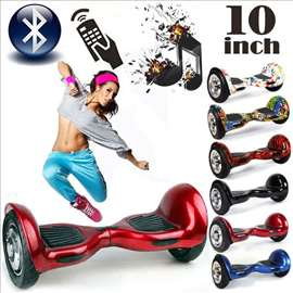 """Hoverboard - Elektricni Skuter 10"""" CRVENI"""