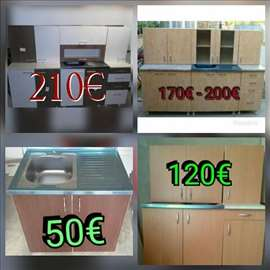 Kuhinja vec od 110€ u svim bojama