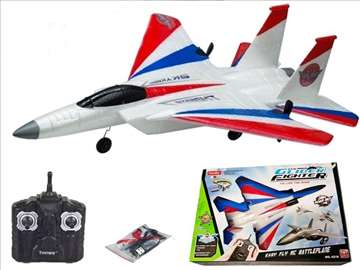 OGROMAN RC Borbeni avion na daljinski F15 Battle