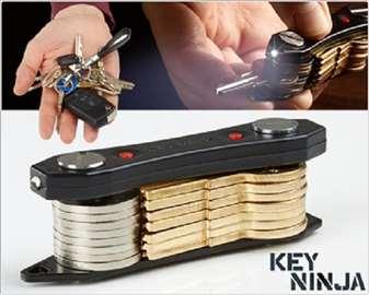 Organizator ključeva Key Ninja + 2 X LED lampa