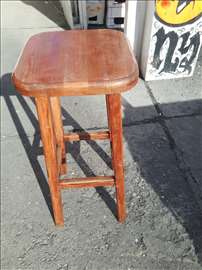 Barske stolice od punog drveta