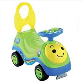 Šetalica za decu zelena
