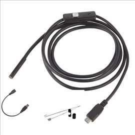 USB kamera endoskop-android/PC-2metra
