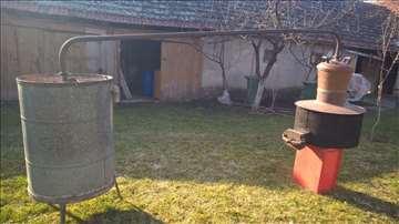 Kazan 220l za pečenje rakije