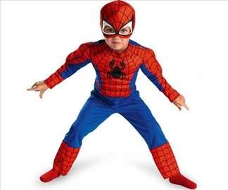 Kostim SPIDERMAN sa mišićima za dečake - NOVO