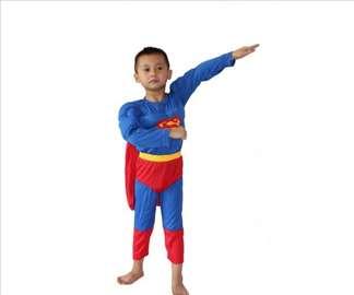 Kostim SUPERMAN sa Misicima za Decake - NOVO