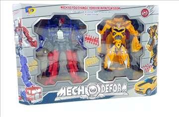 Transformers - ROBOT AUTO Bumblebee i Optimus Prim