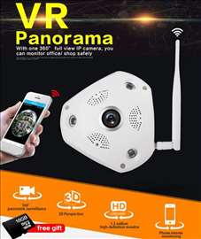 VR IP HD kamera 360 stepeni 3D Kamera - WiFi - LAN