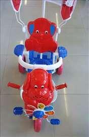 Tricikl za decu plavo-crveni