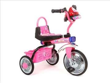 Tricikl za decu roze boje